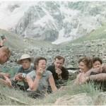 На привале в горах